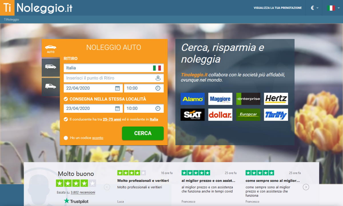 L'italiana Tinoleggio.it sfida Expedia e Booking.com