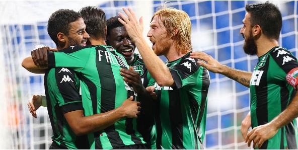 Il Sassuolo ad un passo dall'Europa League, battuta la Stella Rossa per 3-0