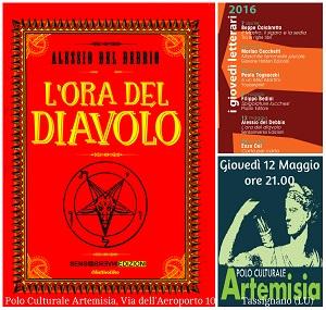 Presentazione L'ora del diavolo al Polo Culturale Artemisia a Tassignano (LU)