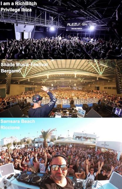 Samsara Beach - Riccione, I am a RichBitch, Shade Music Festival: successo e grandi numeri