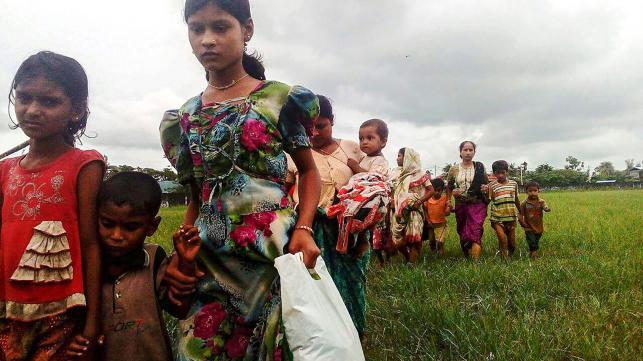 Birmania-Myanmar: Forze di sicurezza sparano sui Rohingya in fuga » Guerre nel Mondo