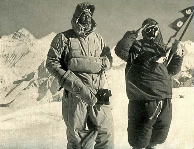 19 ottobre 1954: Tichy e Joechler completano la prima ascensione del Cho Oyu