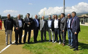 Messina: Inaugurato lo stadio di baseball
