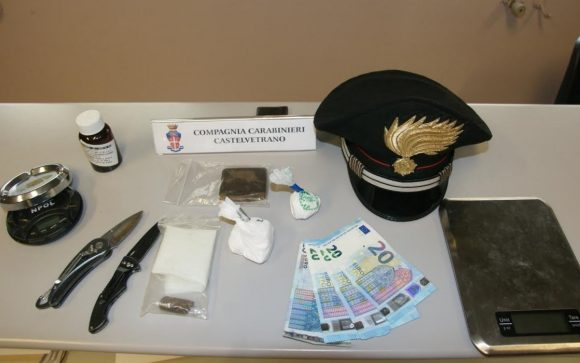 Arrestato 29enne. Rinvenuta cocaina, hashish e metadone