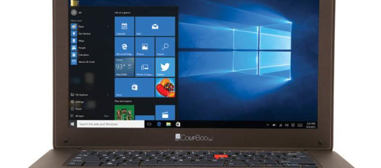 iBall CompBook – Il laptop Windows 10 da 130 euro