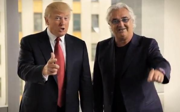 Briatore: al mio amico Donald regalo il Pomo della discordia