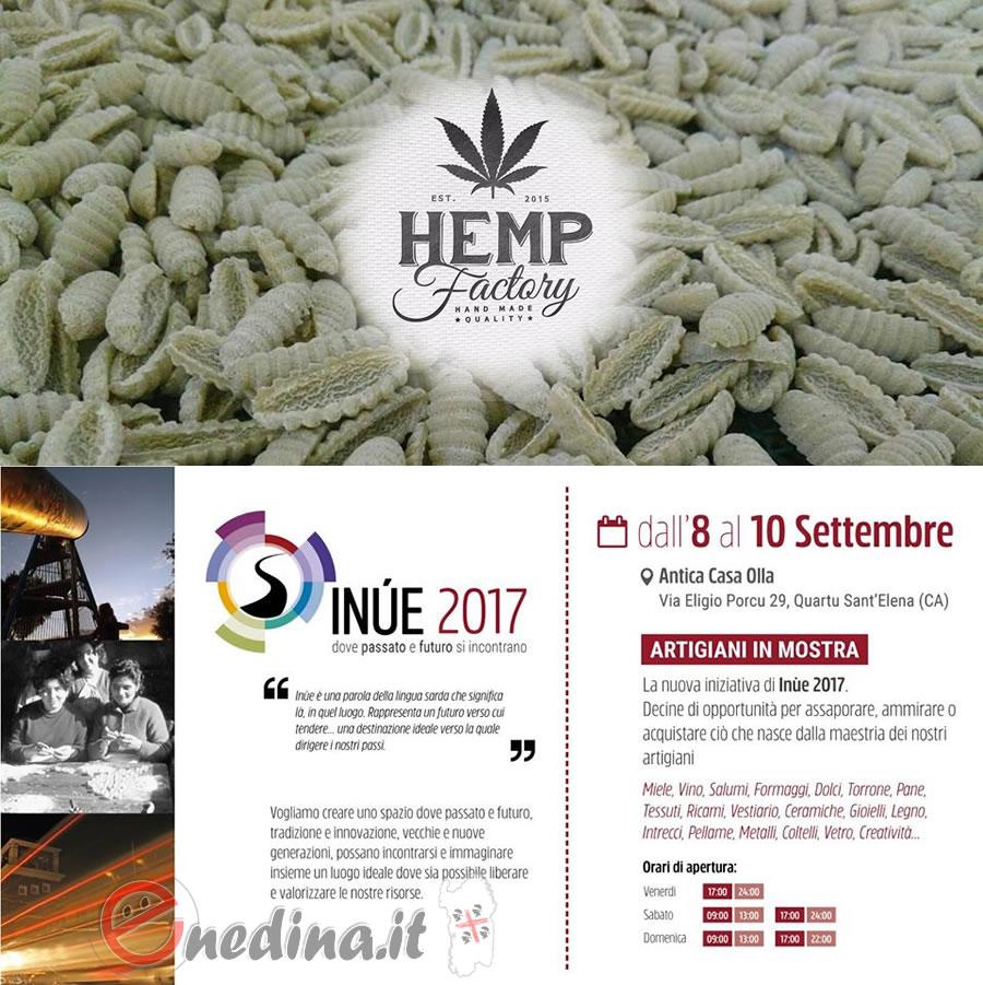 A Inùe 2017 laboratorio sulla canapa come materia prima per produrre i malloreddus