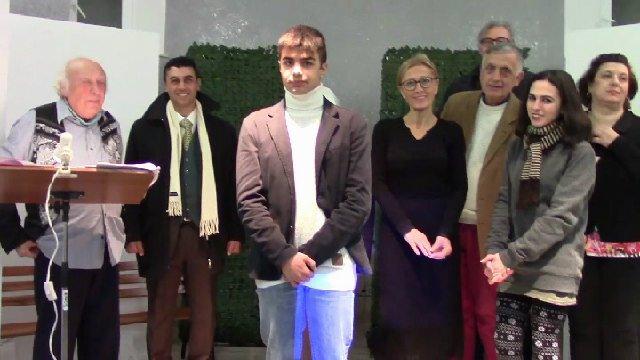 Buon Anno ! Buon 2017 da Nino Scardina e il Clan dei 100 dal Teatro Plinio Colussi di Civitavecchia