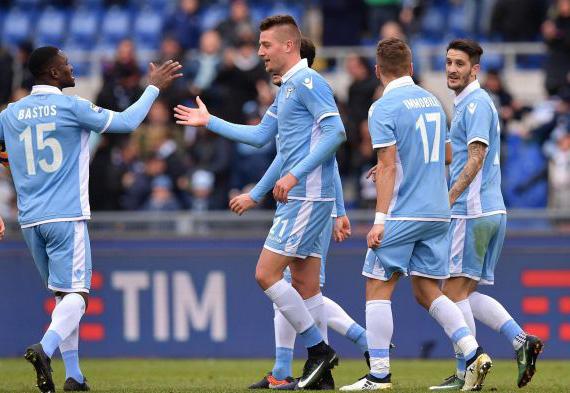 Serie A Tim. Lazio – Atalanta 2 : 1.