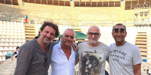 A Taormina, lo show di Panariello, Conti e Pieraccioni con Maurizio Filardo direttore musicale