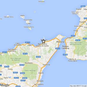 Sciame sismico ML 2.5 il 13-09-2017 dalle 10:57 alle 12:27 a Barcellona Pozzo di Gotto (ME)