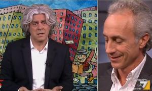 DiMartedì, Maurizio Crozza imita Grillo e Renzi sul referendum [VIDEO]