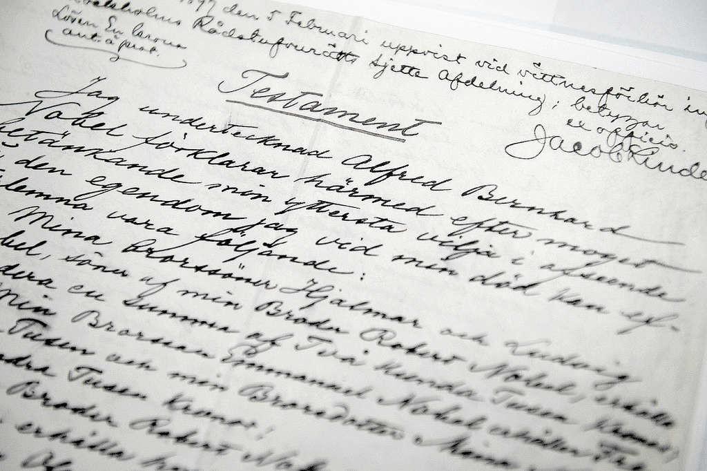 27 novembre 1895: Alfred Nobel crea l'omonimo premio