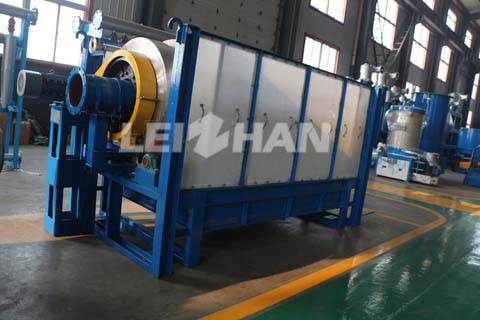 Drum Screen For Continuous Pulping System