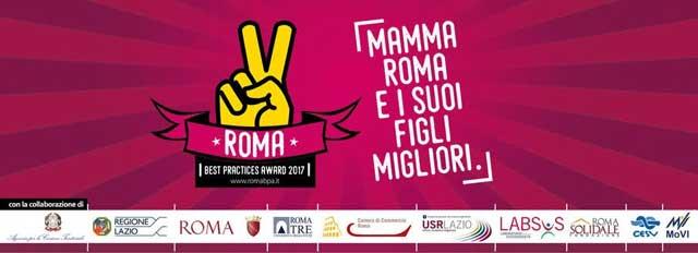 """""""Mamma Roma e i suoi figli migliori"""", ecco il Roma Best Practices Award"""