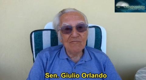 Chapeau bas! Senatore Giulio Cesare Orlando, per la Politica come Passione e Senso dello Stato