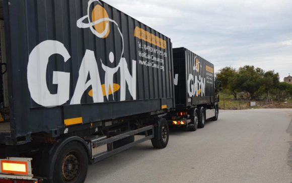 A Castelvetrano, 4 container di beni per i più poveri