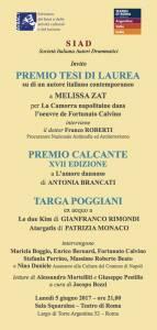 CONSEGNA PREMIO CALCANTE