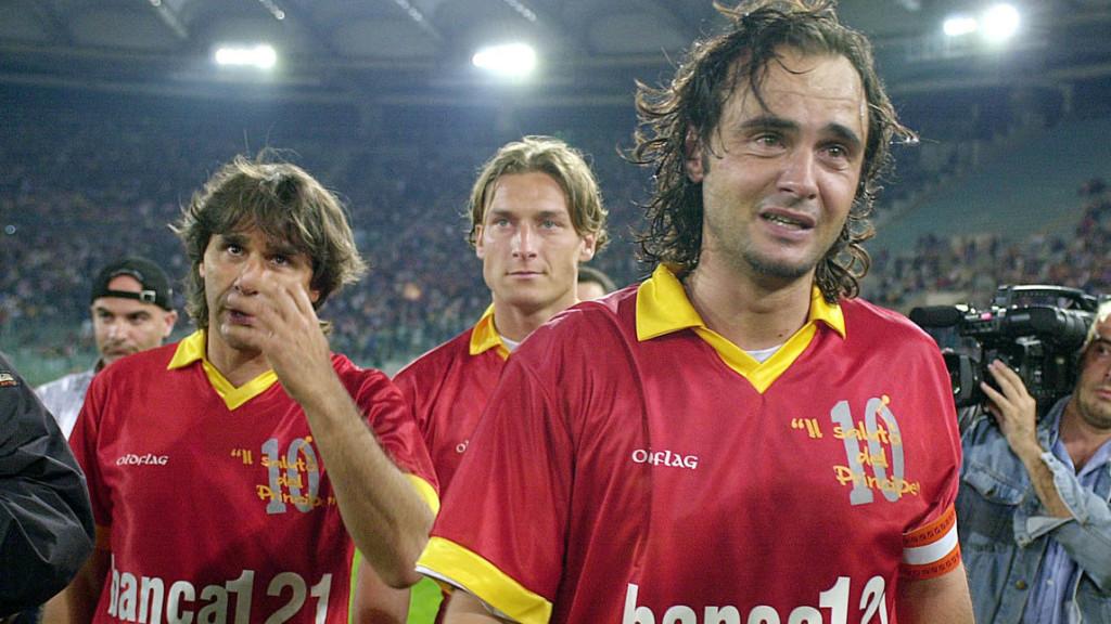 17 maggio 2000: All'Olimpico di Roma l'addio al calcio del Principe Giannini