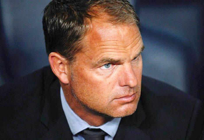 Ufficiale. Frank De Boer non è più l'allenatore dell'Inter