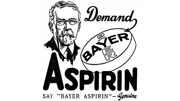 6 marzo 1899: La Bayer brevetta l'aspirina