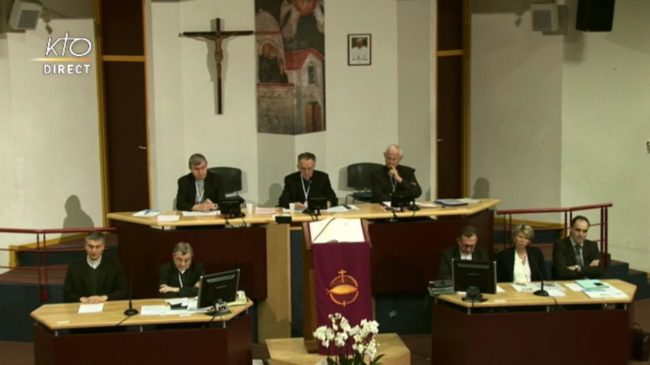 Assemblée, discours d'ouverture par Mgr Georges Pontier
