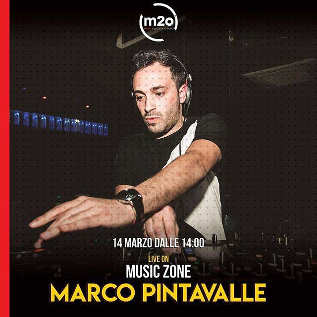 Marco Pintavalle dj guest a m2o / Music Zone