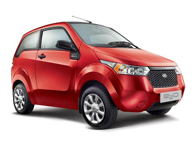 Mahindra e2o: l'auto elettrica indiana alla conquista dell'Europa