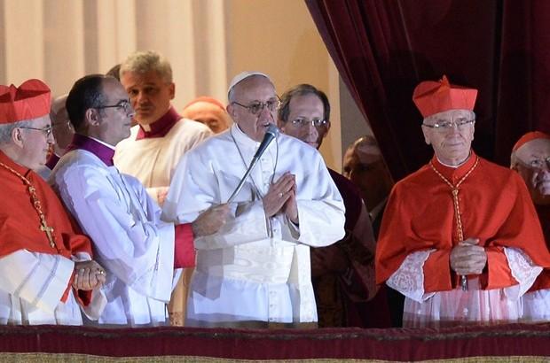 13 marzo 2013: Viene eletto Papa Francesco
