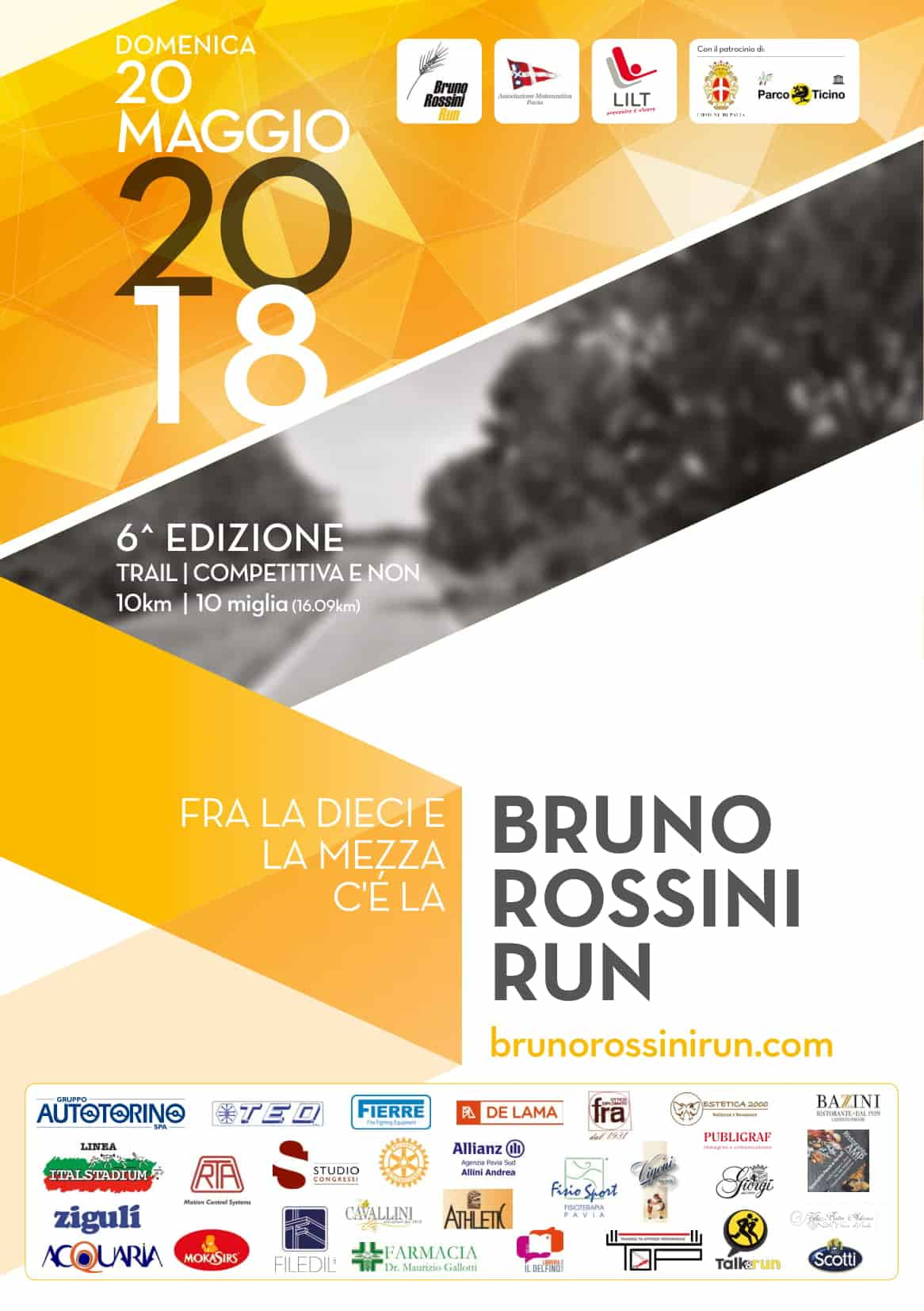 Bruno Rossini Run 2018
