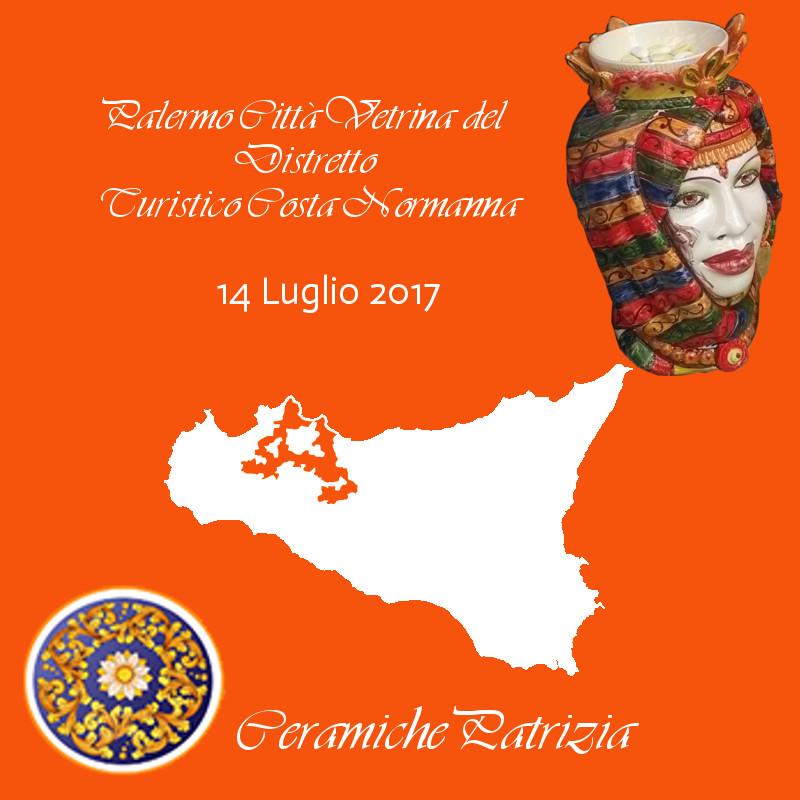 """""""Palermo Città Vetrina del Distretto"""" - La Ceramica Artistica Siciliana sbarca alla Costa Normanna di Palermo"""