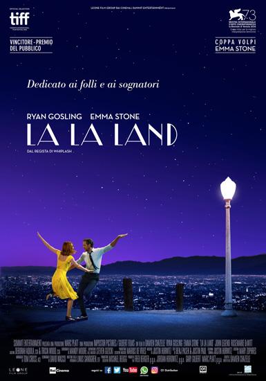 Recensione in anteprima del brillante e seducente La La Land