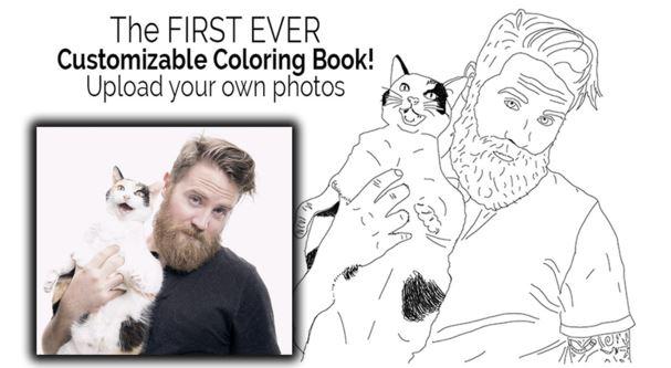 Ecco come trasformare le tue foto Instagram in un personale libro da colorare