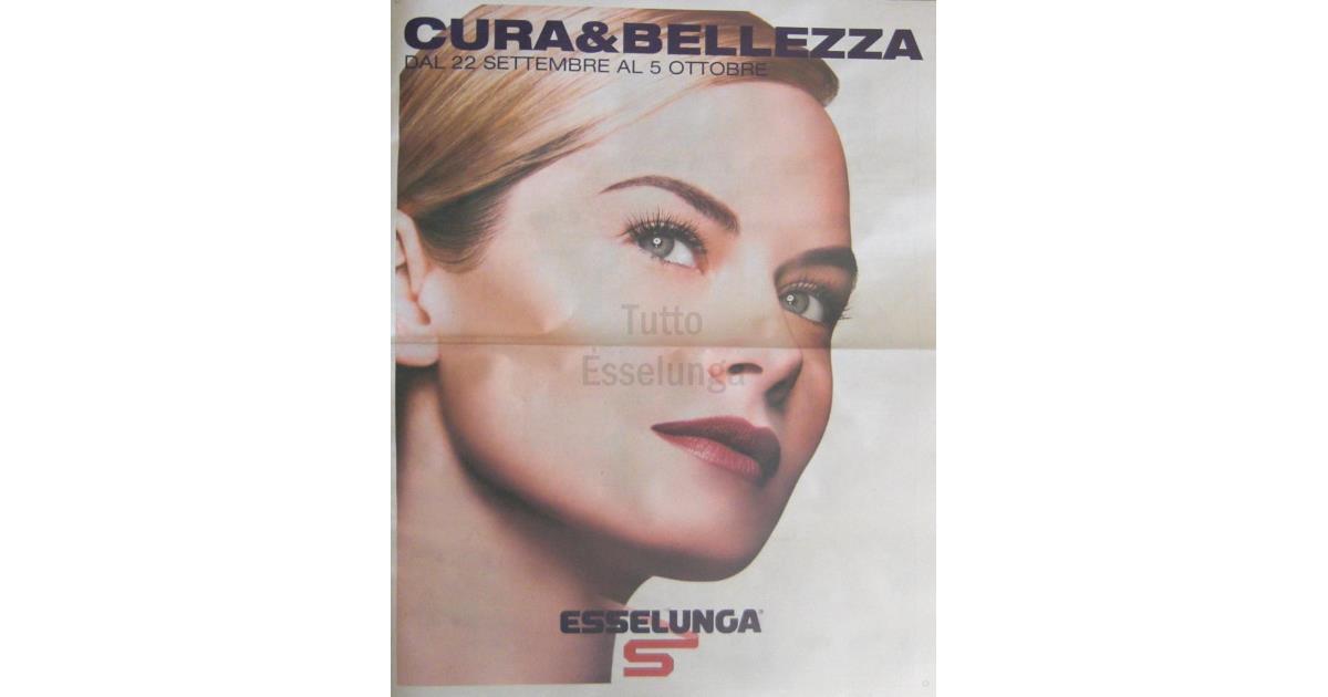 Cura & Bellezza, il volantino Esselunga con prodotti per la bellezza!
