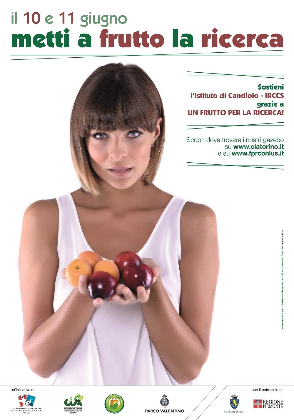 A Torino si sostiene la ricerca contro il cancro con la frutta