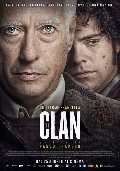 Novità al cinema: l'inquietante thriller IL CLAN