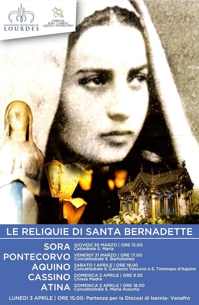 Programma Reliquie presso la Diocesi Sora Ponticorvo