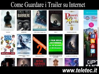 Trailer di Film, Serie Tv, Videogiochi e Booktrailer - Ecco dove guardarli gratis