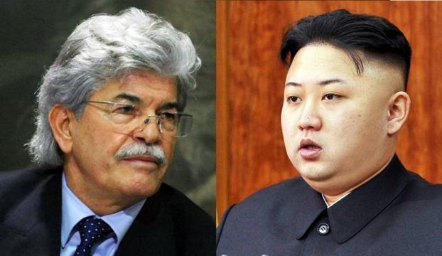 Antonio Razzi è pronto a fare da scudo umano e parte per la Corea del Nord