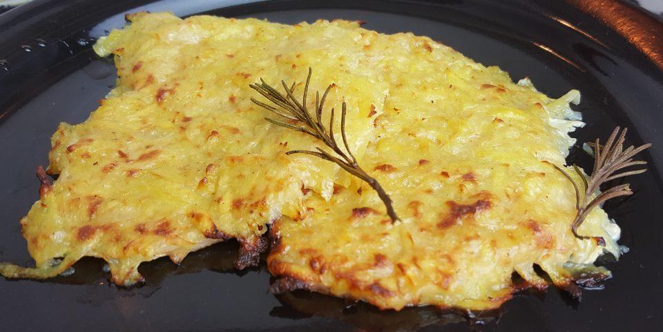 Lonza in crosta di patate