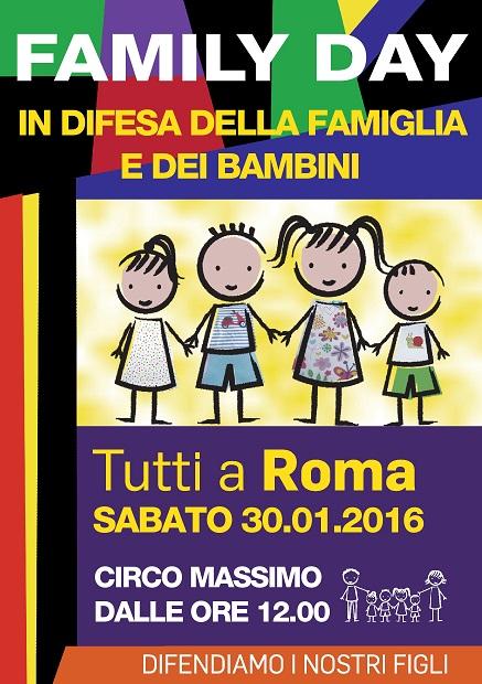 Family Day 2016, domani al circo Massimo. Gli ultimi preparativi