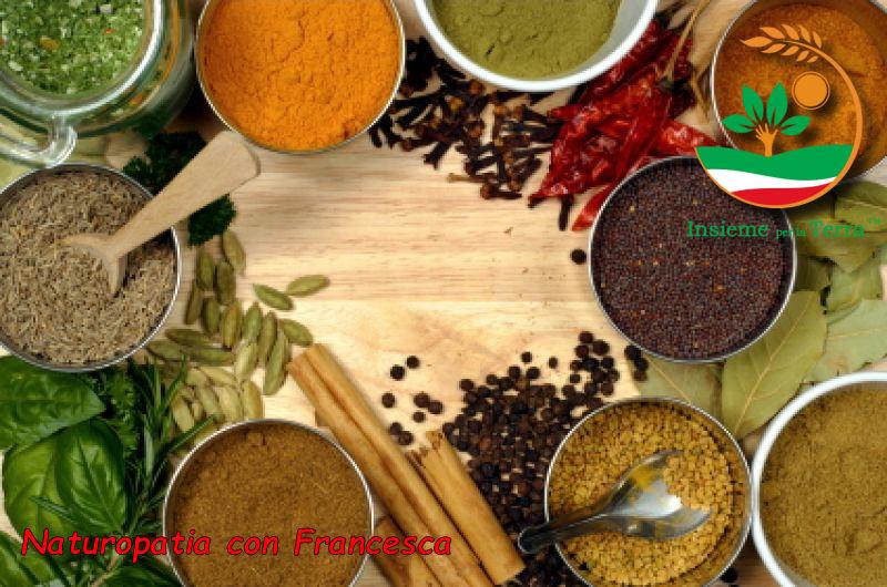 Naturopatia con Francesca – Benessere con le #spezie