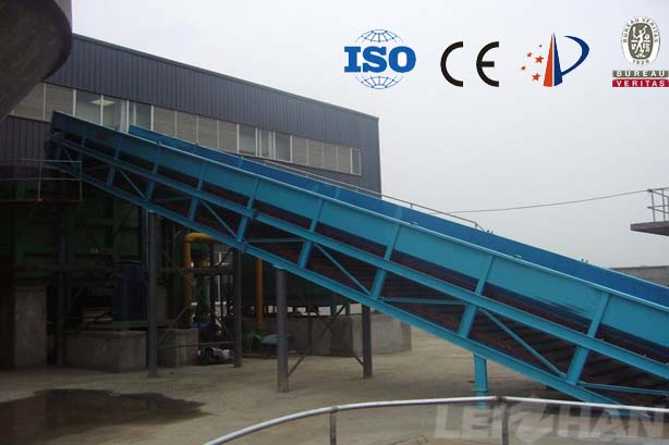 Chain Conveyor In Waste Paper Recycling Line