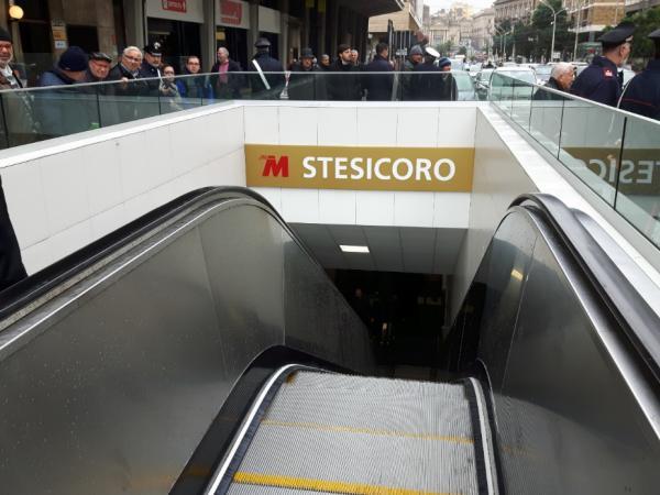 Catania, inaugurata la tratta Stesicoro-Galatea della Metropolitana