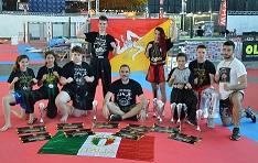 Il Team del Maestro Cesare Belluardo alla Finalissima dei Campionati Italiani WTKA 2017 di Rimini