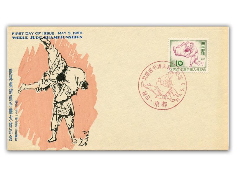 3 maggio 1956: Si tiene a Tokyo il primo mondiale di judo