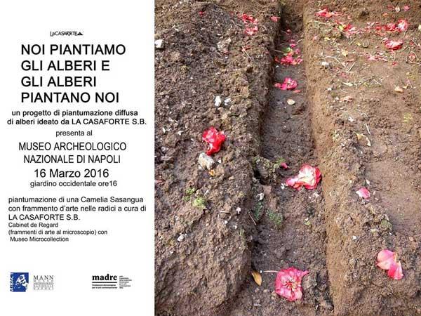 L'arte sta germogliando a Napoli