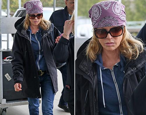 """Kim Basinger lascia Vancouver dopo le riprese di """"50 Sfumature di Nero"""""""