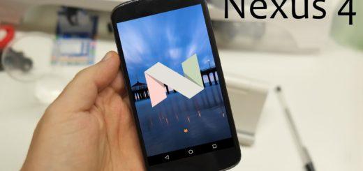 AOSP ROM Android 7.0 Nougat sul Nexus 4