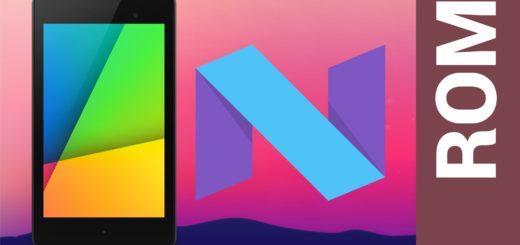Installa Android 7.0 Nougat su Nexus 7 2012 tramite nAOSP